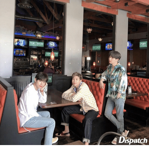Dispatch, Ern, and Tavern: PKWY TAVERN  PKWY  TANOUSE  PKY TAVERN  PKWY  ERN  RN  ILLE  Dispatch