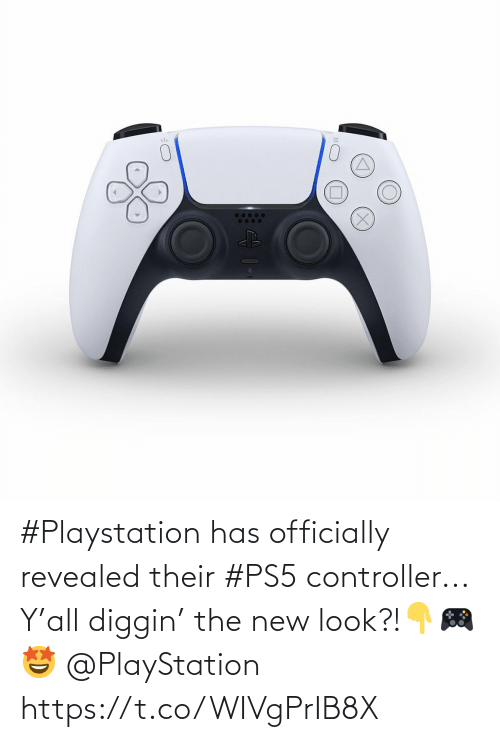 The New: #Playstation has officially revealed their #PS5 controller... Y'all diggin' the new look?!👇🎮🤩 @PlayStation https://t.co/WIVgPrIB8X