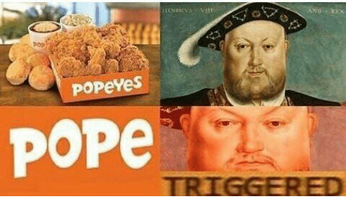 Pop, Pope Francis, and Popeyes: pop  popeYeS  Pope