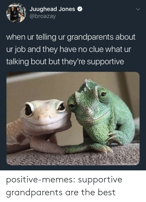 Grandparents: positive-memes:  supportive grandparents are the best