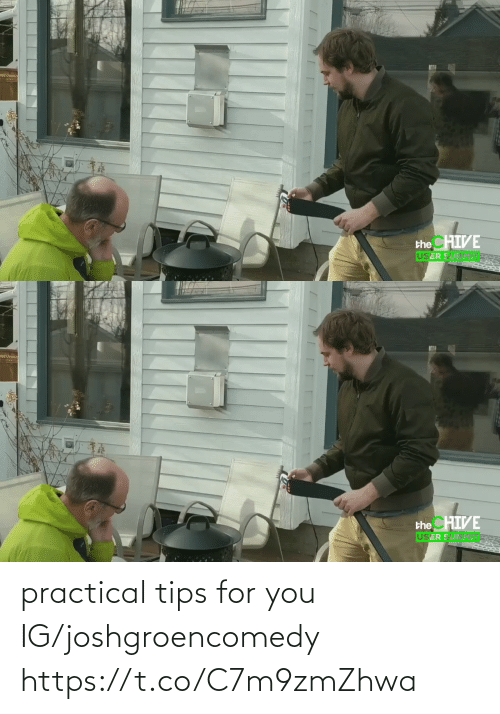 For You: practical tips for you IG/joshgroencomedy https://t.co/C7m9zmZhwa