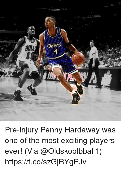 Memes, 🤖, and One: Pre-injury Penny Hardaway was one of the most exciting players ever!   (Via @Oldskoolbball1)  https://t.co/szGjRYgPJv