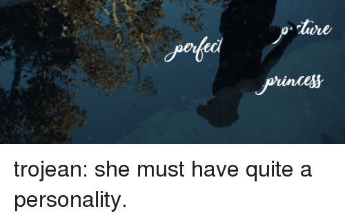 Prince, Target, and Tumblr: prince trojean: she must have quite a personality.