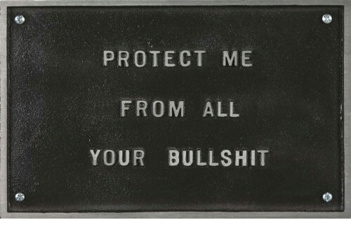 Protect Me: PROTECT ME  FROM ALL  YOUR BULLSHIT