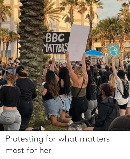For Her: Protesting for what matters most for her