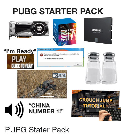 Pubg Starter Pack Samsung Solid State Drive Sgae Xe Application