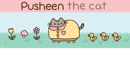 Pusheens: pusheen the cat