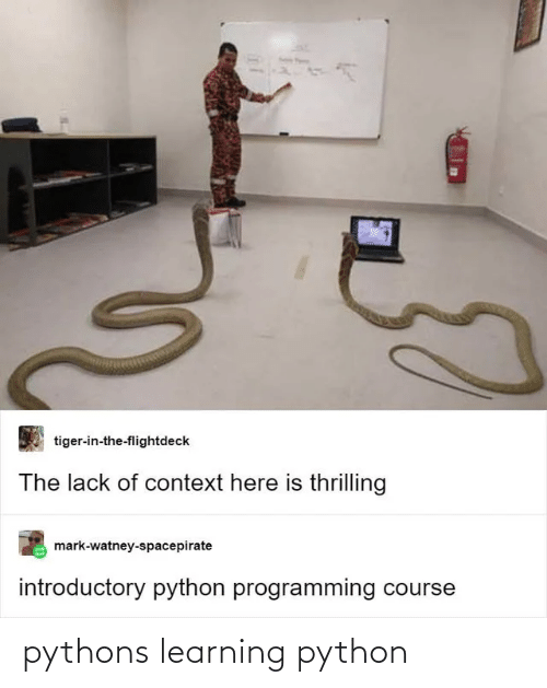 Learning: pythons learning python