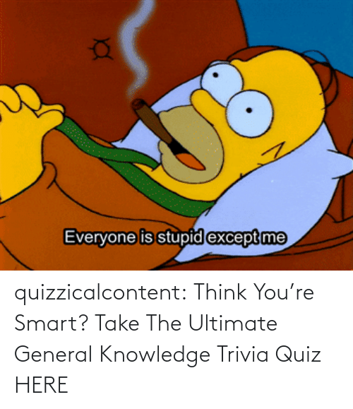 smart: quizzicalcontent:  Think You're Smart? Take The Ultimate General Knowledge Trivia Quiz HERE