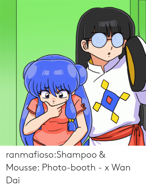 Target, Tumblr, and Blog: ranmafioso:Shampoo & Mousse: Photo-booth - x Wan Dai