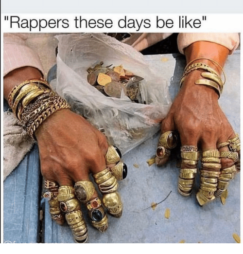 "Be Like, Funny, and Rappers: ""Rappers these days be like'"