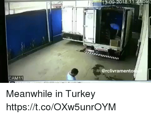 Memes, Turkey, and 🤖: @rclivramento  AM11 Meanwhile in Turkey  https://t.co/OXw5unrOYM