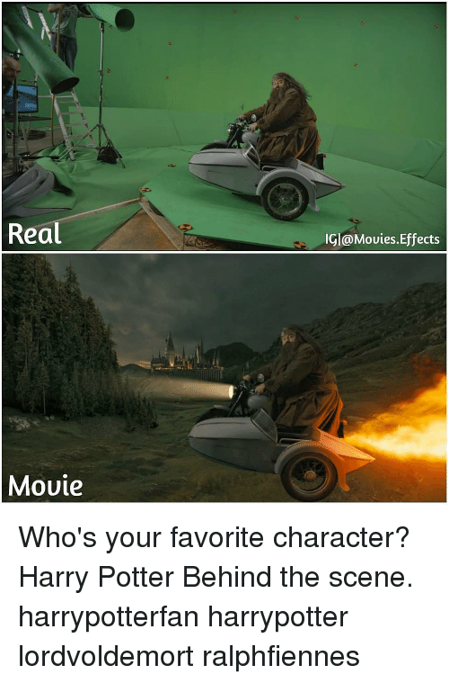 Favorite Character: Real  IGl@Movies.Effects  Movie Who's your favorite character? Harry Potter Behind the scene. harrypotterfan harrypotter lordvoldemort ralphfiennes