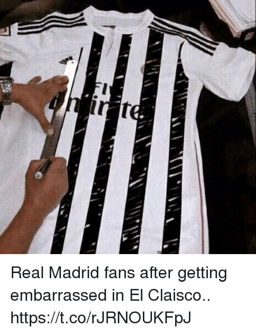 Real Madrid, Soccer, and Madrid: Real Madrid fans after getting embarrassed in El Claisco.. https://t.co/rJRNOUKFpJ