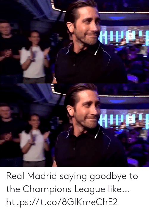 Champions League: Real Madrid saying goodbye to the Champions League like... https://t.co/8GIKmeChE2