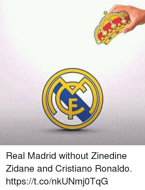 Cristiano Ronaldo, Real Madrid, and Soccer: Real Madrid without Zinedine Zidane and Cristiano Ronaldo. https://t.co/nkUNmj0TqG