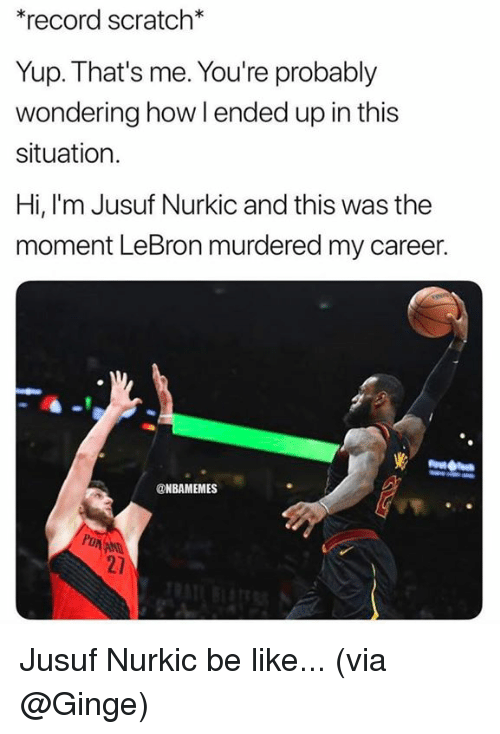 02ad28bfb5ba 🅱 25+ Best Memes About Jusuf Nurkic