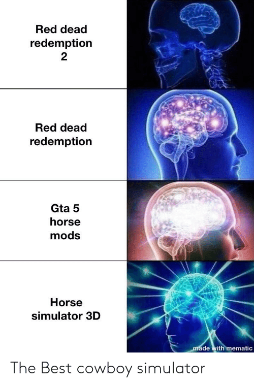 Best, Gta 5, and Horse: Red dead  redemption  2  Red dead  redemption  Gta 5  horse  mods  Horse  simulator 3D  de with mematic The Best cowboy simulator