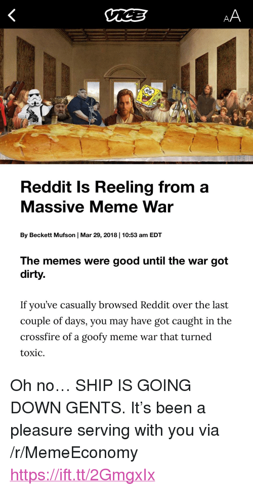 """Meme, Memes, and Reddit: Reddit Is Reeling from a  Massive Meme War  By Beckett Mufson 
