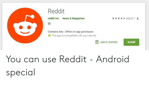 🅱️ 25+ Best Memes About Reddit Android | Reddit Android Memes