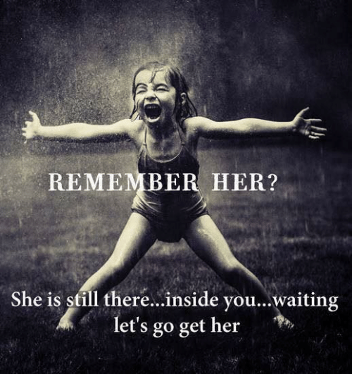 Dank, Waiting..., and 🤖: REMEMBER HER?  She is still there...inside you...waiting  let's go get her