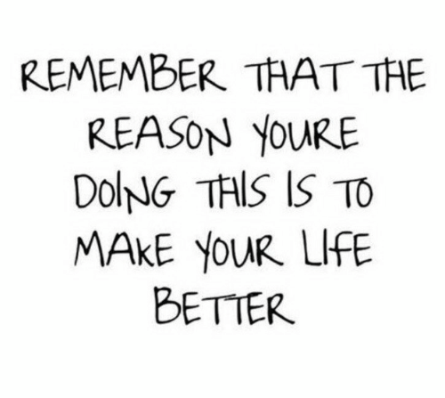 Reason, Remember, and Make: REMEMBER THAT THE  REASON YOURE  DolNG THIS IS TO  MAKE YOUR LIE  BETTER
