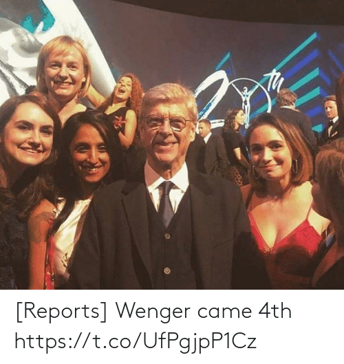 came: [Reports] Wenger came 4th https://t.co/UfPgjpP1Cz