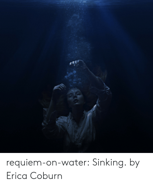 Tumblr, Blog, and Flickr: requiem-on-water:  Sinking.by  Erica Coburn
