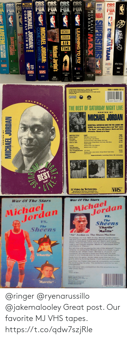 vhs: @ringer @ryenarussillo @jakemalooley Great post. Our favorite MJ VHS tapes. https://t.co/qdw7szjRle