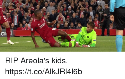 Soccer, Kids, and Rip: RIP Areola's kids. https://t.co/AlkJRl4l6b