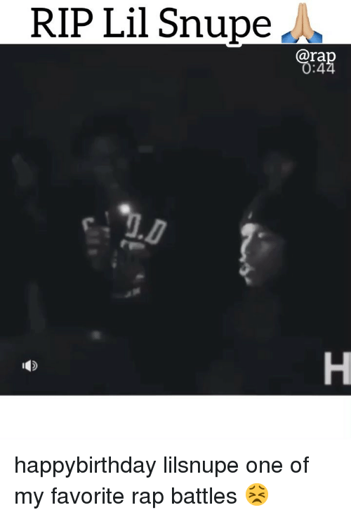 Happybirthday: RIP Lil Snupe A  ra  :4 happybirthday lilsnupe one of my favorite rap battles 😣
