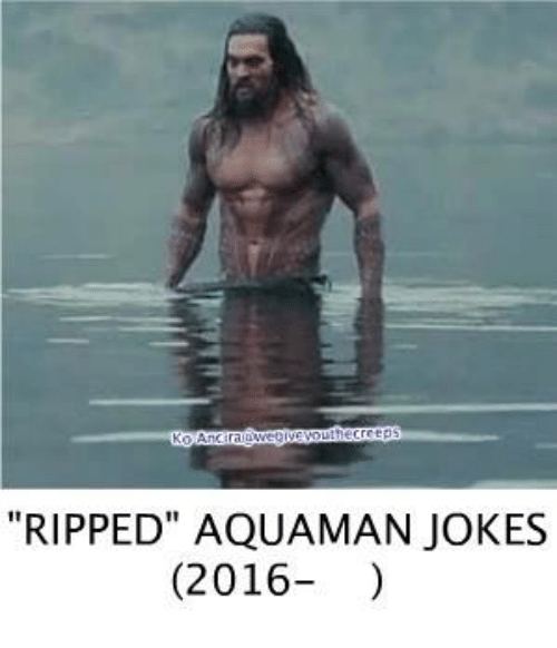"Aquaman Jokes: ""RIPPED"" AQUAMAN JOKES  (2016"
