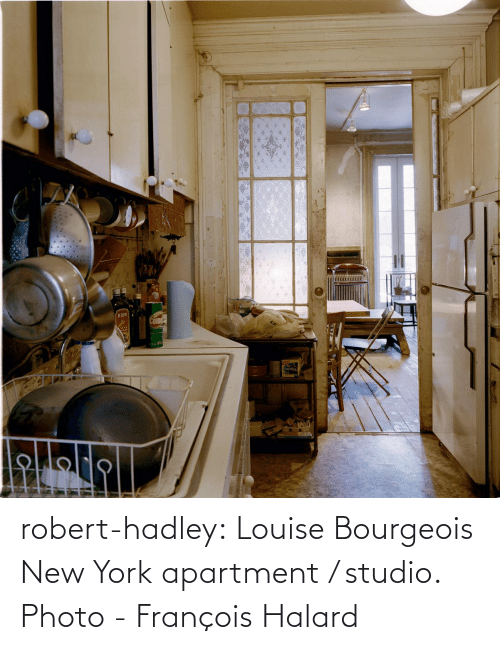 New York: robert-hadley:  Louise Bourgeois New York apartment / studio. Photo - François Halard