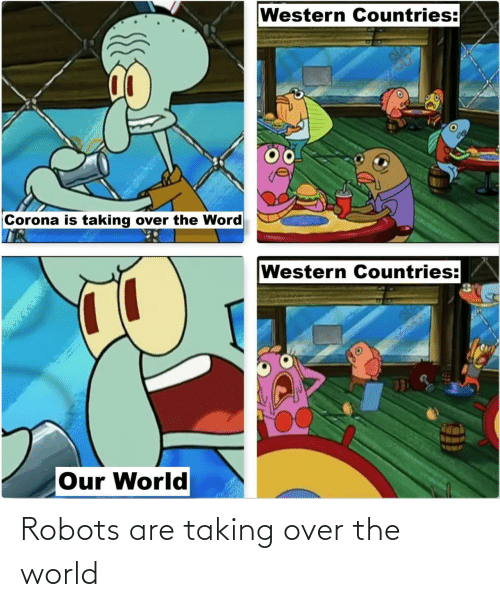 World: Robots are taking over the world
