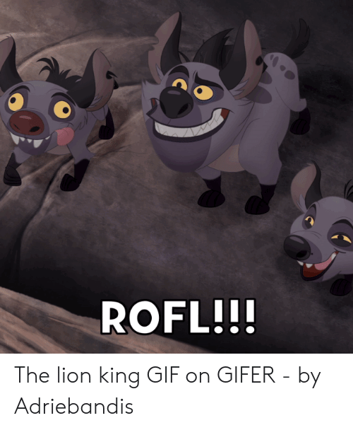 Lion King Gif: ROFL!! The lion king GIF on GIFER - by Adriebandis