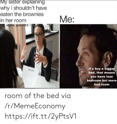 room: room of the bed via /r/MemeEconomy https://ift.tt/2yPtsV1