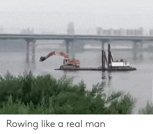 Rowing: Rowing like a real man