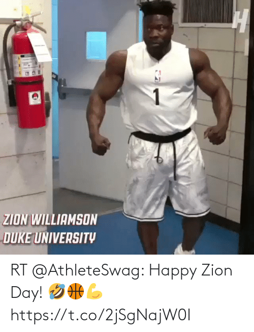 ballmemes.com: RT @AthleteSwag: Happy Zion Day! 🤣🏀💪 https://t.co/2jSgNajW0I