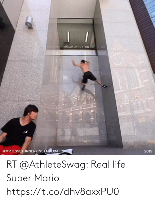 Mario: RT @AthleteSwag: Real life Super Mario https://t.co/dhv8axxPU0