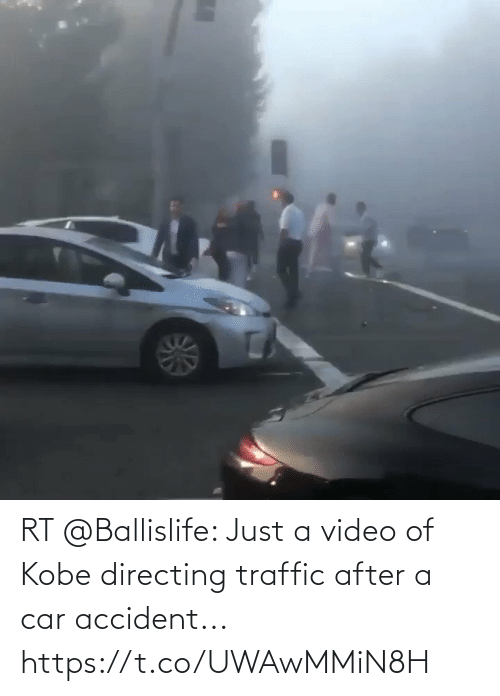 Memes, Traffic, and Kobe: RT @Ballislife: Just a video of Kobe directing traffic after a car accident...  https://t.co/UWAwMMiN8H