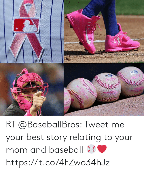 Baseball: RT @BaseballBros: Tweet me your best story relating to your mom and baseball ⚾️❤️ https://t.co/4FZwo34hJz