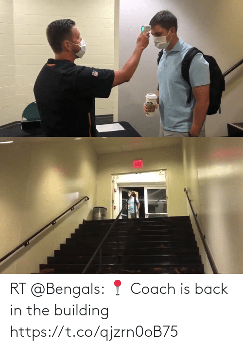 building: RT @Bengals: 📍 Coach is back in the building https://t.co/qjzrn0oB75