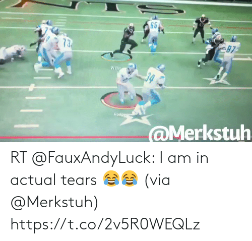 NFL: RT @FauxAndyLuck: I am in actual tears 😂😂  (via @Merkstuh) https://t.co/2v5R0WEQLz