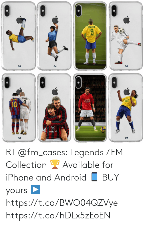 Android: RT @fm_cases: Legends / FM Collection 🏆  Available for iPhone and Android 📱  BUY yours ▶️ https://t.co/BWO04QZVye https://t.co/hDLx5zEoEN