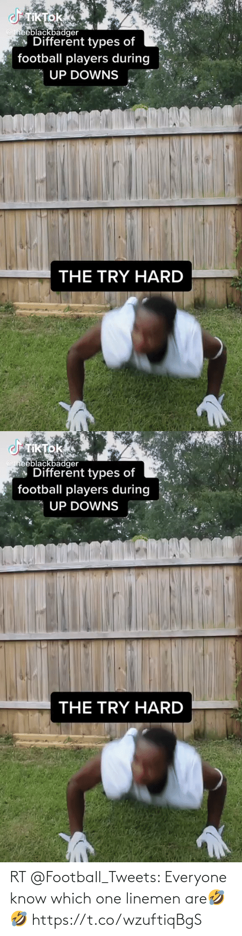 Football: RT @FootbaIl_Tweets: Everyone know which one linemen are🤣🤣 https://t.co/wzuftiqBgS