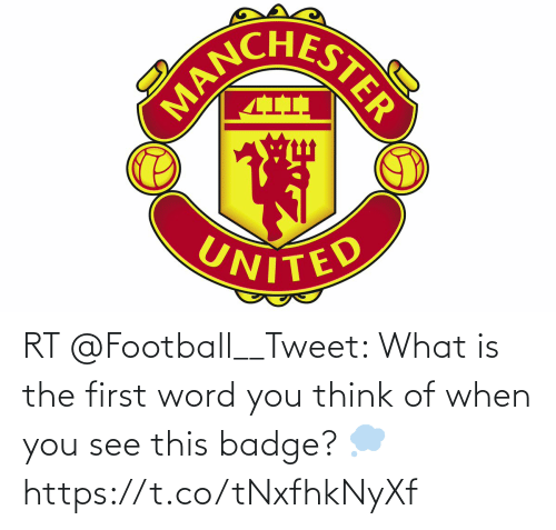 Football: RT @Football__Tweet: What is the first word you think of when you see this badge? 💭 https://t.co/tNxfhkNyXf