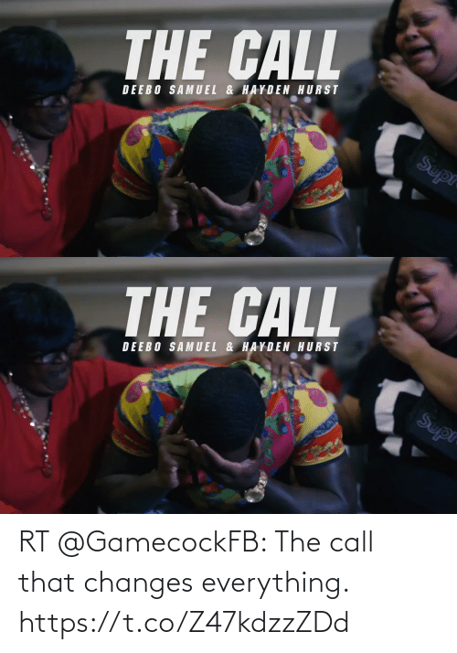 changes: RT @GamecockFB: The call that changes everything. https://t.co/Z47kdzzZDd
