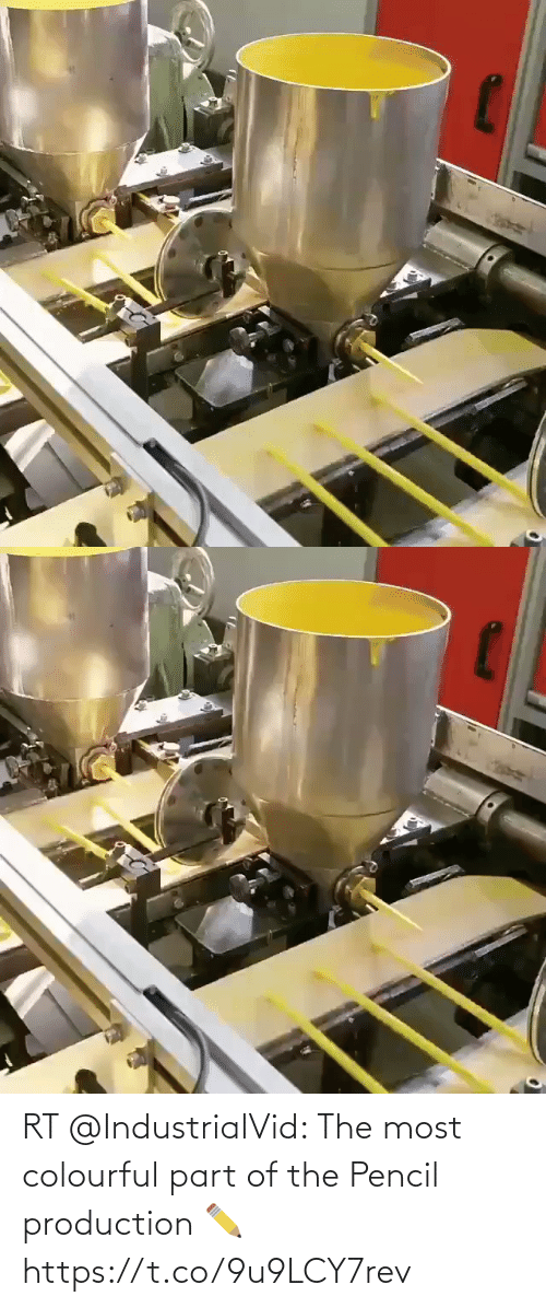 Part: RT @IndustrialVid: The most colourful part of the Pencil production ✏️ https://t.co/9u9LCY7rev