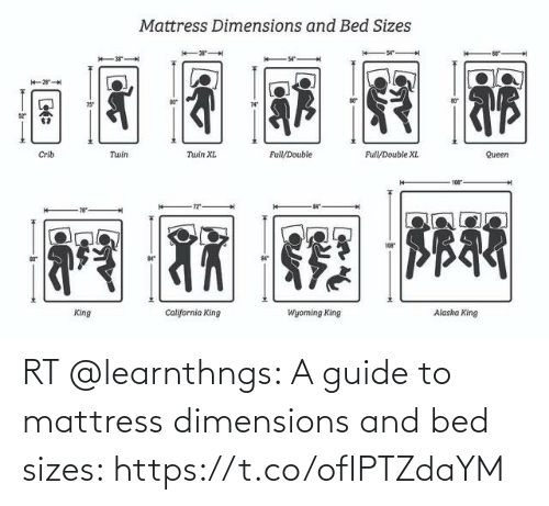 guide: RT @learnthngs: A guide to mattress dimensions and bed sizes: https://t.co/ofIPTZdaYM