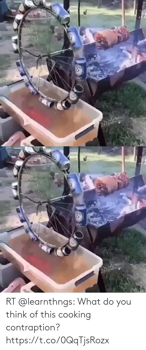 You Think: RT @learnthngs: What do you think of this cooking contraption? https://t.co/0QqTjsRozx